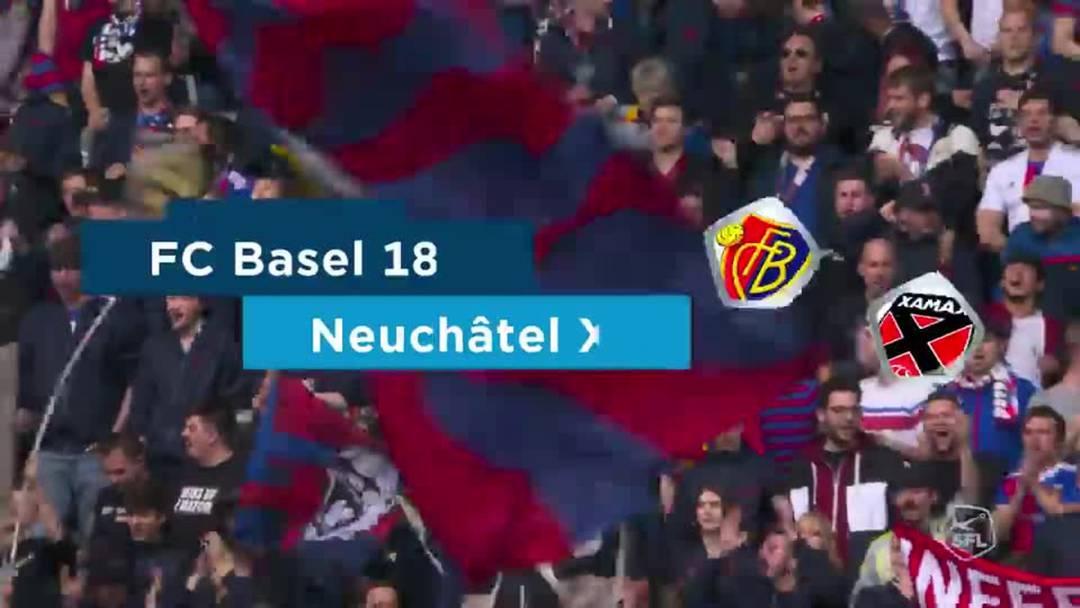 Super League, Saison 2018/19, Runde 36  FC Basel-Neuchâtel Xamax , Matchhighlights