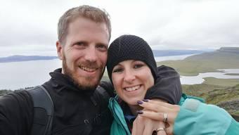 Ein eingeschworenes Team: Marc Häfliger mit Ehefrau Marion.