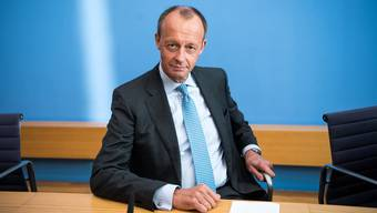 Friedrich Merz weckt bei den konservativen CDU-Anhängern Hoffnungen. (KEYSTONE/DPA/Bernd von Jutrczenka)