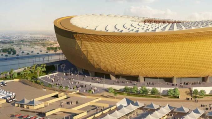 Platz für 80'000 Fussballfans: das geplante Lusail-Stadion in Katar für das Fussball-WM-Finale 2022.
