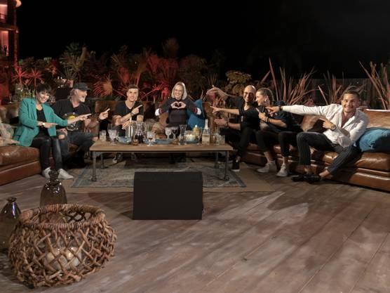"""Steff la Cheffe machte bei der Schweizer Adaption von """"Sing meinen Song - Das Tauschkonzert"""" mit. Ebenfalls dabei: Francine Jordi, Marc Storace, Seven, Stefanie Heinzmann, Ritschi  und Loco Escrito."""