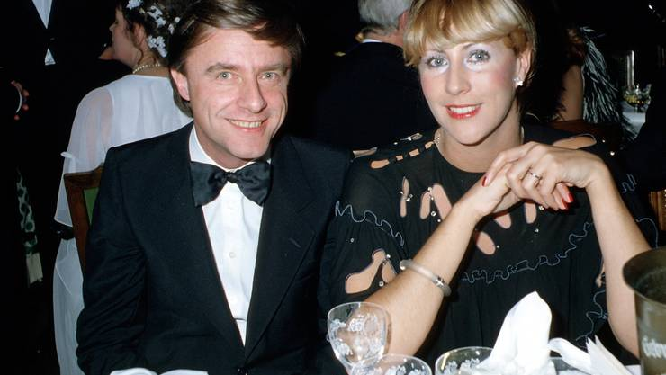 Da war die Ehe noch intakt: Kabarettist Emil Steinberger mit seiner damaligen Ehefrau Maya (Bild aus den 80er-Jahren).
