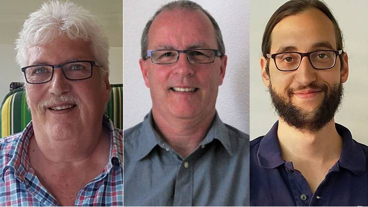 Die drei Kandidaten