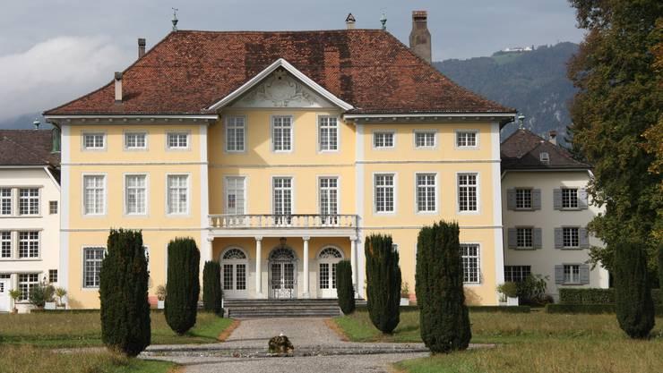 Das Solothurner Schloss Steinbrugg ist der Verwaltungssitz des Bischofs. Dort soll Platz für Flüchtlinge geschaffen werden. (Archiv)