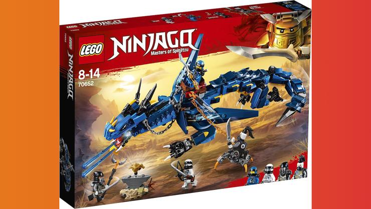 Wunsch-Nr. 56, Joel, 10 Jahre, Lego Ninjago Drache blau, Franz Carl Weber, CHF 54.95