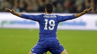 Entschied das Spiel in Southampton mit dem 2:0: Chelseas Stürmer Diego Costa