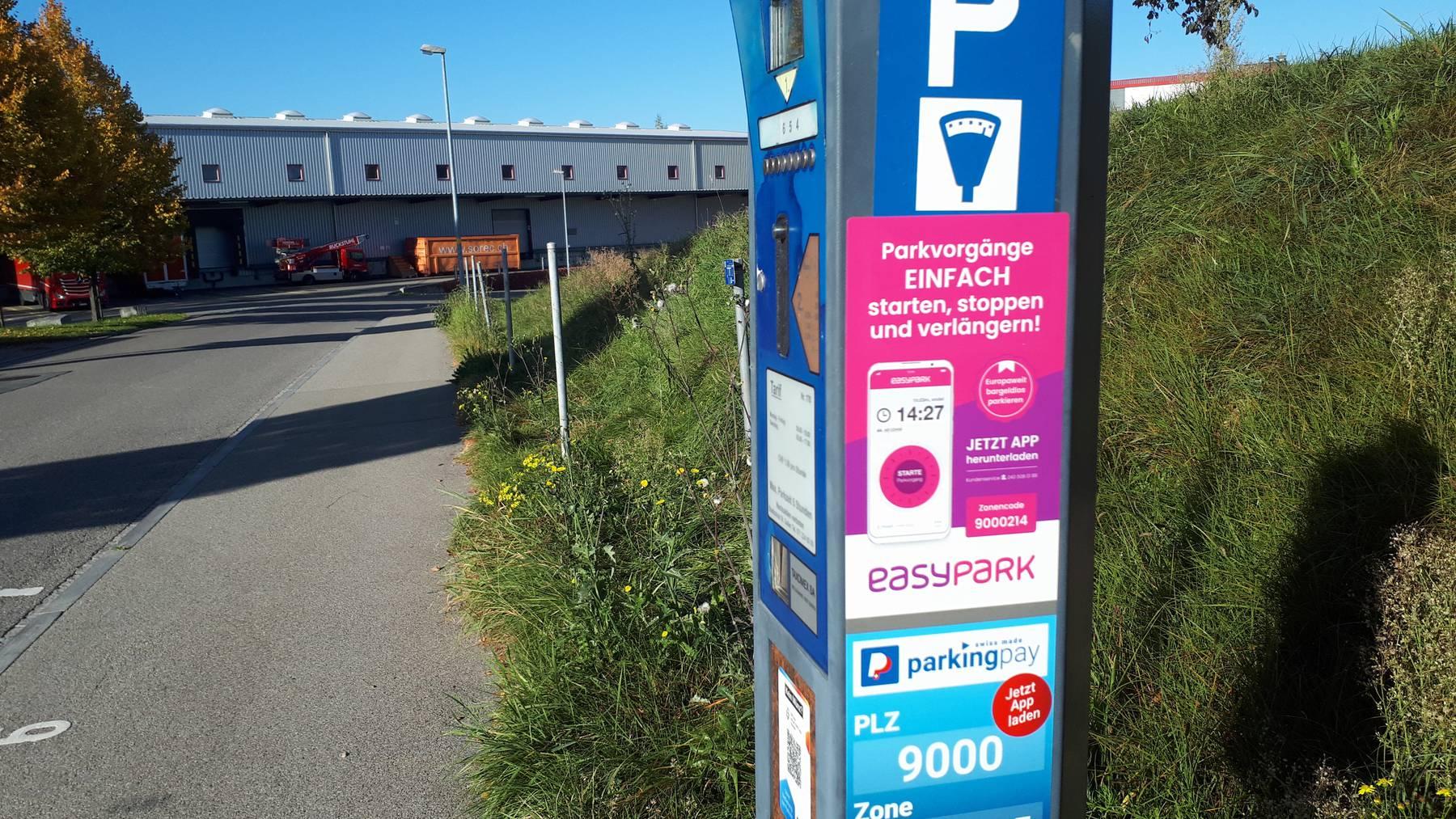 Parkuhr Gründenstrasse