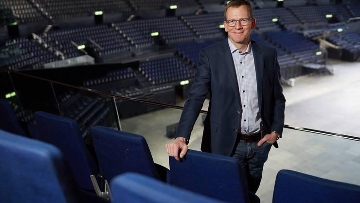 Felix Frei leitete das Hallenstadion 13 Jahre lang. Bis im Juni berät er seinen Nachfolger, dann übernimmt er neue Aufgaben.
