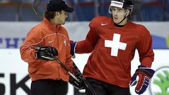 NHL-Verstärkung Diaz im Schweizer WM-Camp angekommen.