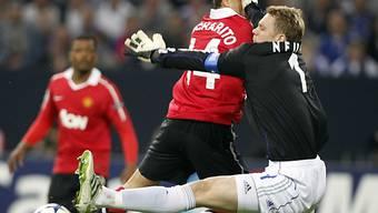 Neuer hielt gegen Manchester United über eine Stunde lang dicht
