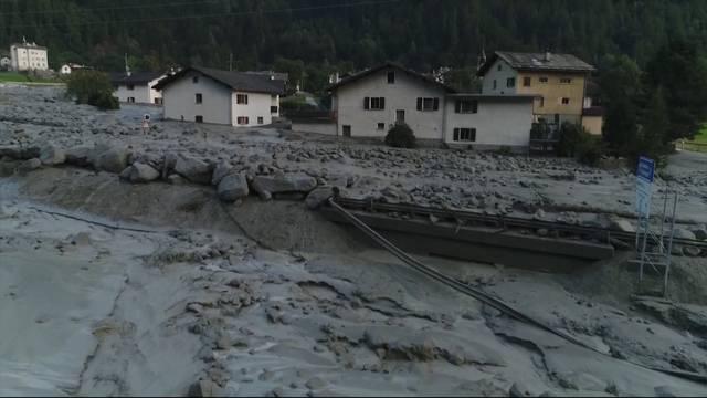Bergsturz erschüttert Bergell (Bericht vom 24. August 2017)
