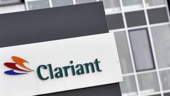 Das Logo des Chemiekonzerns Clariant (Archiv)