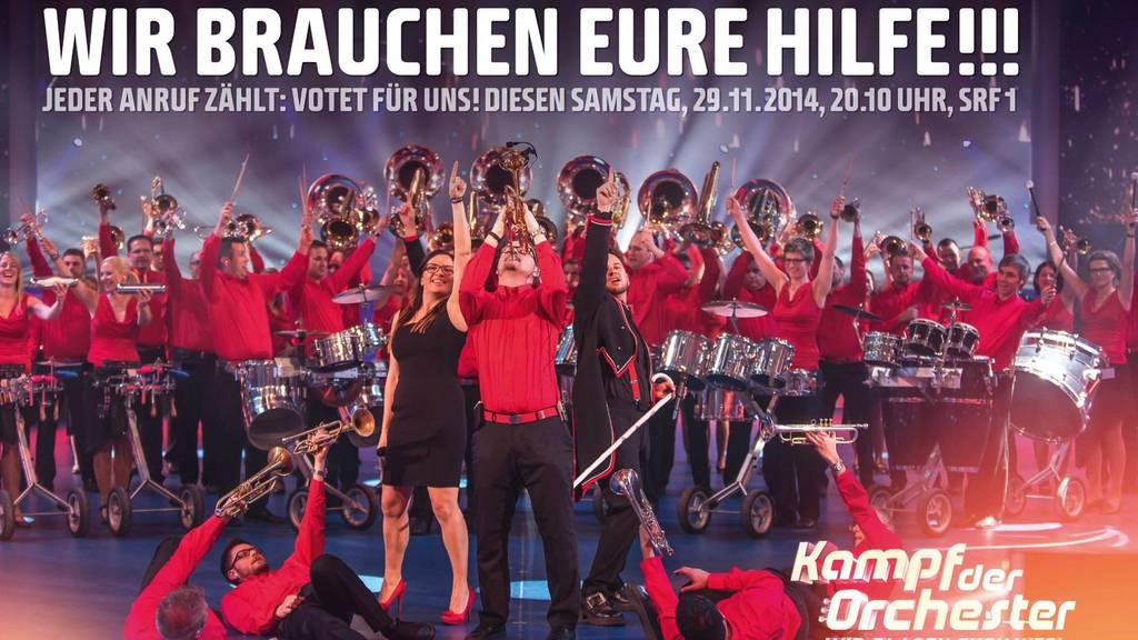 Kampf der Orchester: Finale mit zwei Zentralschweizer Orchester