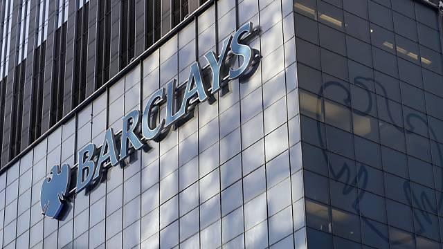 Der Bank Barclays wird in den USA der Prozess gmacht (Archiv)