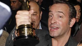 Jean Dujardin hat sich seinen Oscar etwas kosten lassen (Archiv)
