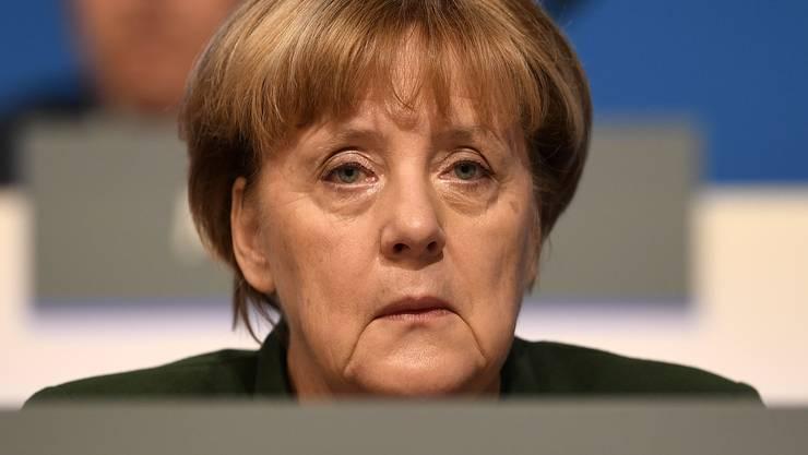 Auch Angela Merkel ist manchmal müde.