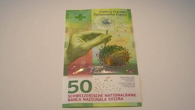 Neue 50-Franken-Note ab heute erhältlich