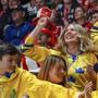 Bildstrecke: Eishockey WM, Vorrunde, Bratislava, Schweiz - Schweden (18.5.19)