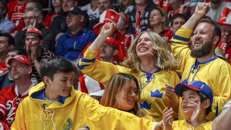 Die schwedischen Fans haben einmal mehr jubeln dürfen.