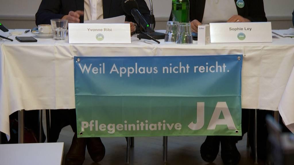 Pflege-Initiative: Ja-Komitee lanciert Abstimmungskampf