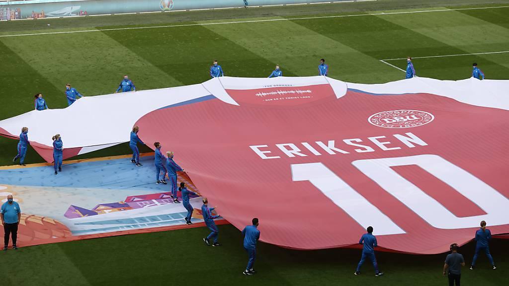 Dänemark siegt, wo Christian Eriksen begann
