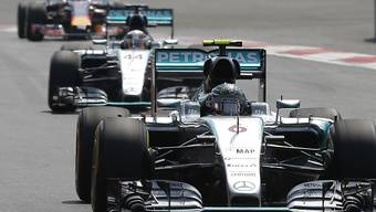 Nico Rosberg hatte Mercedes-Teamkollege und Weltmeister Lewis Hamilton in Mexiko im Griff