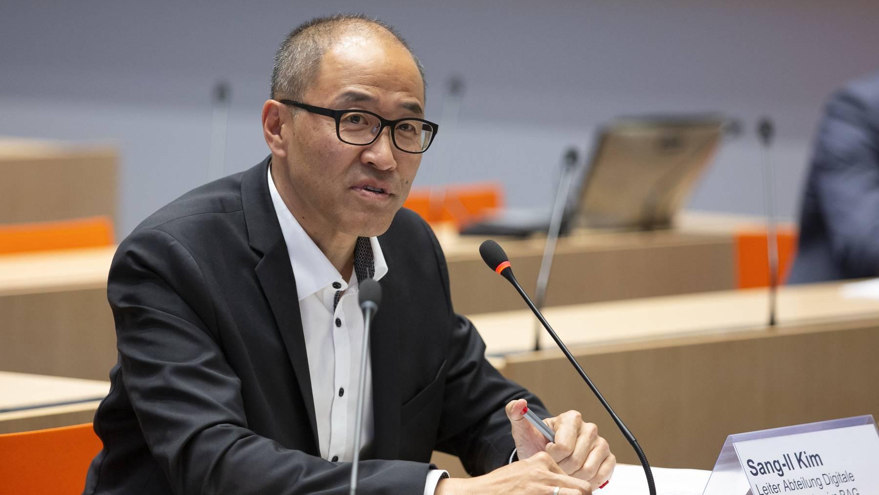 Sang-Il Kim ist der Leiter der Abteilung für Digitale Transformation beim Bundesamt für Gesundheit.