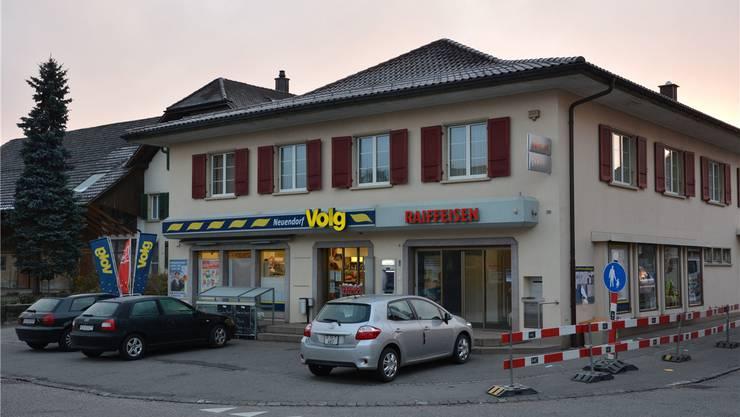 Der Volg-Laden an der Dorftrasse in Neuendorf soll mindestens bis ins Jahr 2025 weitergeführt werden.