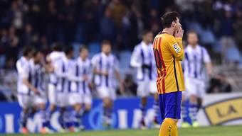 Messi bleibt auch gegen Atletico unter seinen Möglichkeiten.