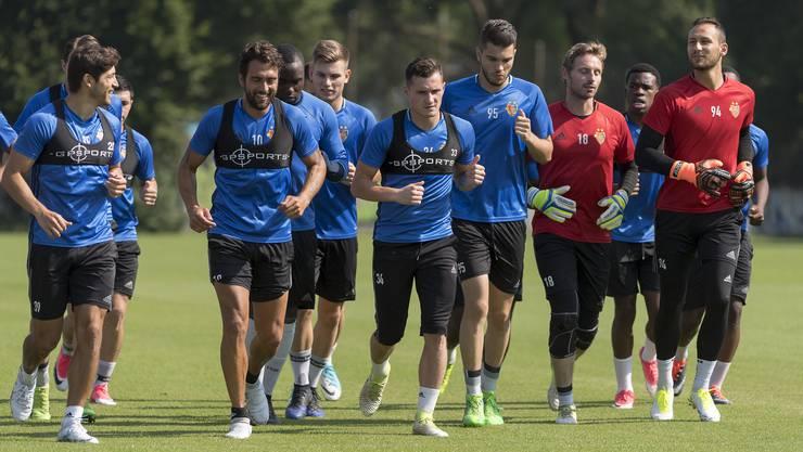 Der FCB hat Ende Juni nach den Sommerferien das Training wieder aufgenommen.