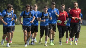 FC Basel Trainingsauftakt