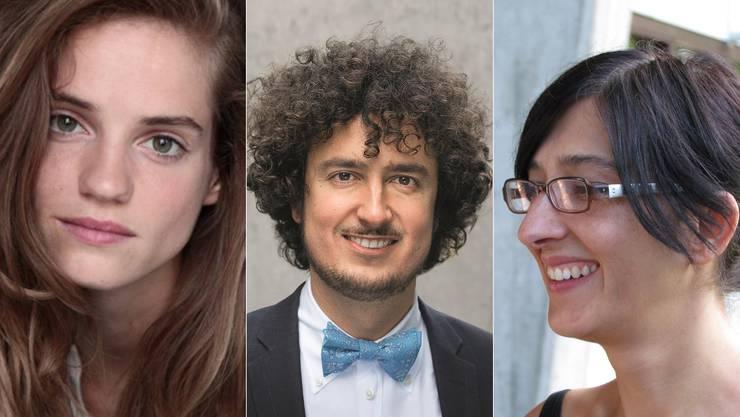 Noémie Schmidt, Nicola Forster und Esen Isik.