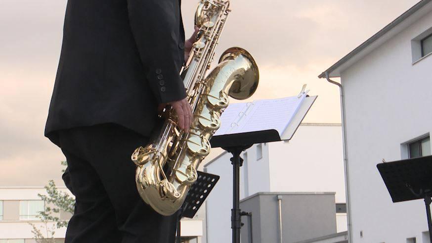 Musikalische Grüsse in die Quartiere
