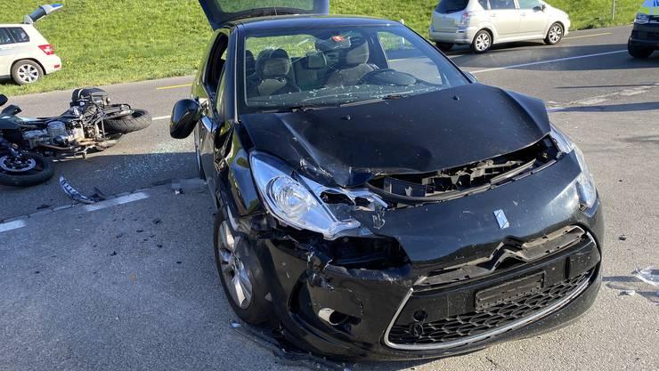 Der Führerschein auf Probe wurde dem Automobilisten abgenommen.