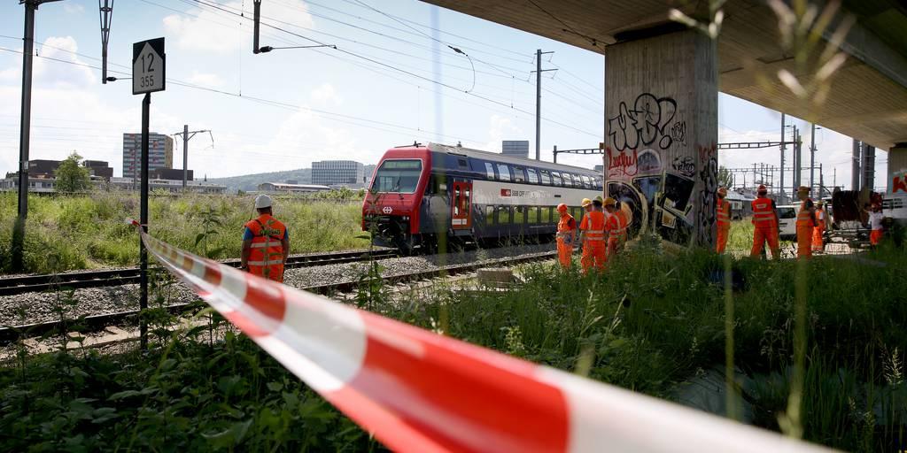 Zugchaos Zürich-Oerlikon: Der Brand soll absichtlich gelegt worden sein.