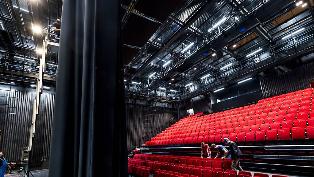 Vorhang auf für das neue Théâtre du Jura in Delsberg.