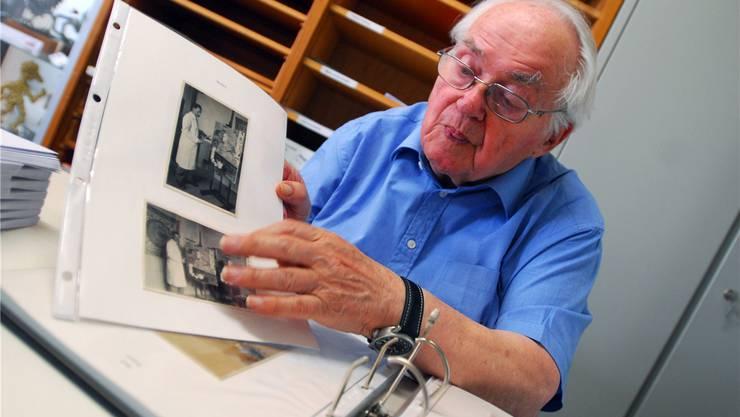 Toni Brechbühl (1920-2018) zeigt Fotografien von Arthur Girard.