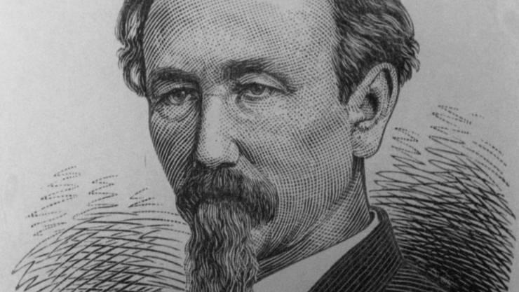 Der Literat und Schriftsteller Alfred Hartmann.