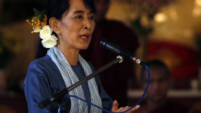 Oppositionsführerin Aung San Suu Kyi (Archivbild)