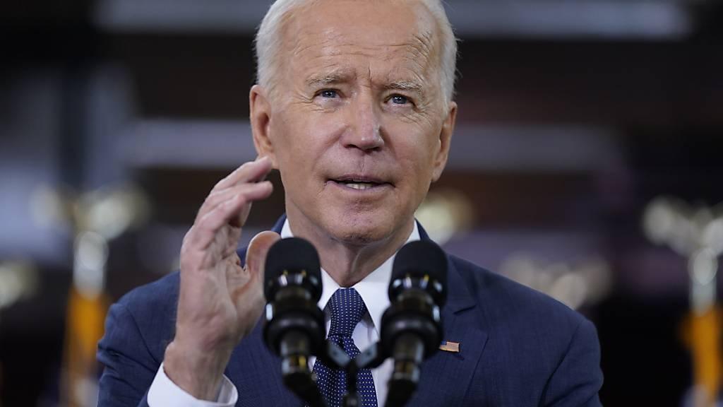 US-Präsident Joe Biden will 2 Billionen US-Dollar in die marode Infrastruktur des Landes investieren. Dadurch könnten auch Schweizer Firmen profitieren. (Symbolbild)