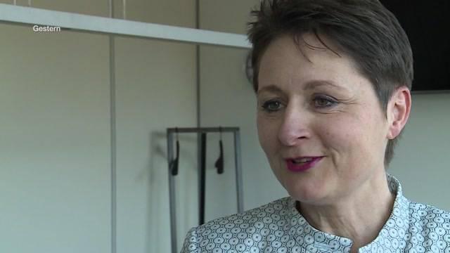 Regierungsrätin Roth räumt ihr Departement auf