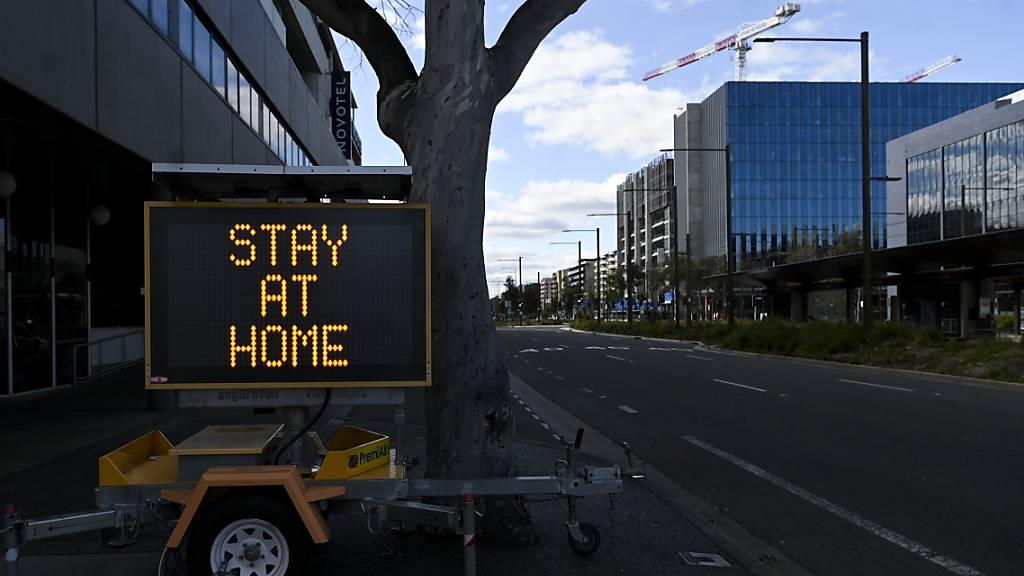 Australiens Hauptstadt bleibt einen weiteren Monat im Lockdown