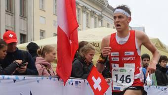 Matthias Kyburz und seine Landsleute verpassen das Podest.