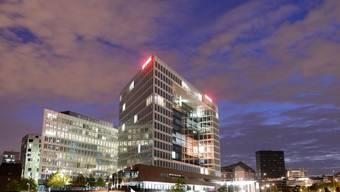 """Blick auf das """"Spiegel""""-Gebäude in Hamburg - das deutsche Nachrichtenmagazin wurde offenbar von den USA ausgespäht (Archiv)"""