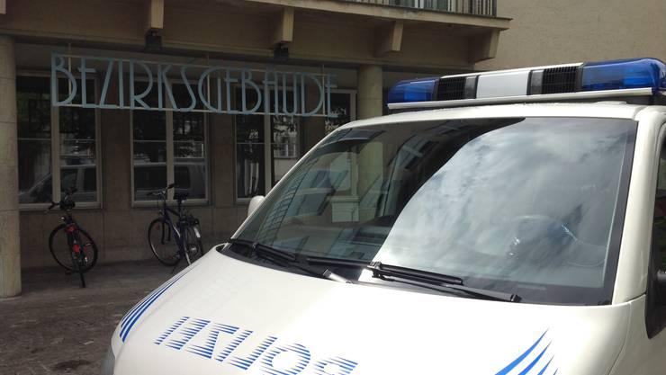 Im Lenzburger Bezirksgebäude fand die Gerichtsverhandlung statt.