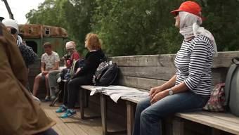 Ab in die Wildnis: So muss man sich eine Fahrt mit einer russischen Schmalspurbahn vorstellen.