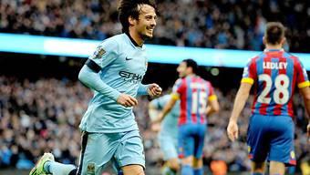 David Silva ebnete Manchester City den Weg zum Sieg
