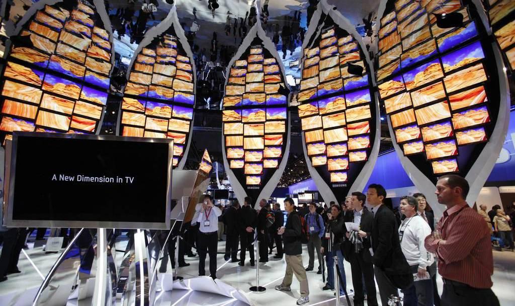 Samsung präsentiert seinen Mega-Fernseher