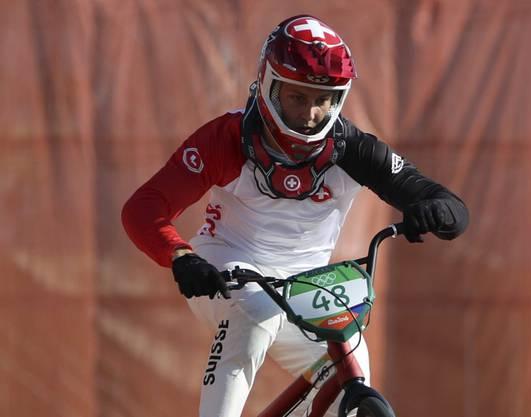 David Graf qualifizierte sich trotz zwei Stürzen für die Halbfinals