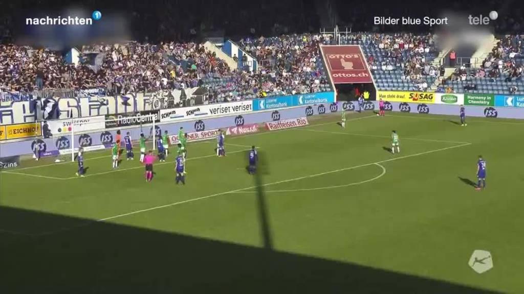 FC Luzern holt sich ersten Saisonsieg